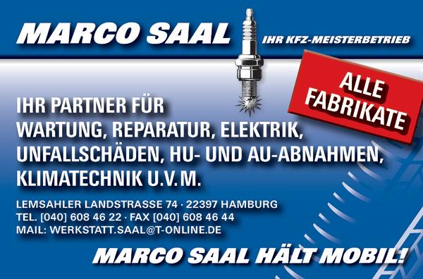 Marco Saal Kfz-Meisterbetrieb in Lemsahl/Alstertal
