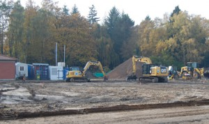 Baustopp in Klein Borstel