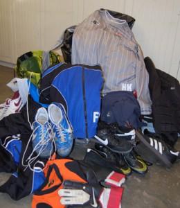 Spendensammlung Fußballbekleidung