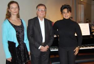 Kinderpact-Lesung mit Vijak Bayani und dem Klavier-Duo Kareev