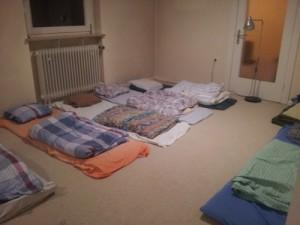 Unterkunft-Zimmer