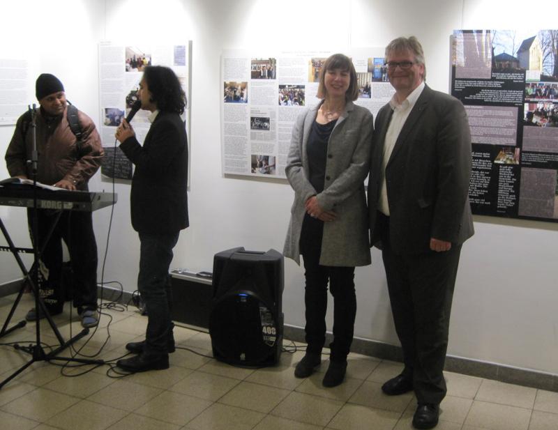 Ausstellung Flüchtlingshilfe Ohlstedt