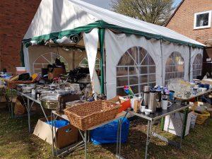 Spendenflohmarkt in Klein Borstel